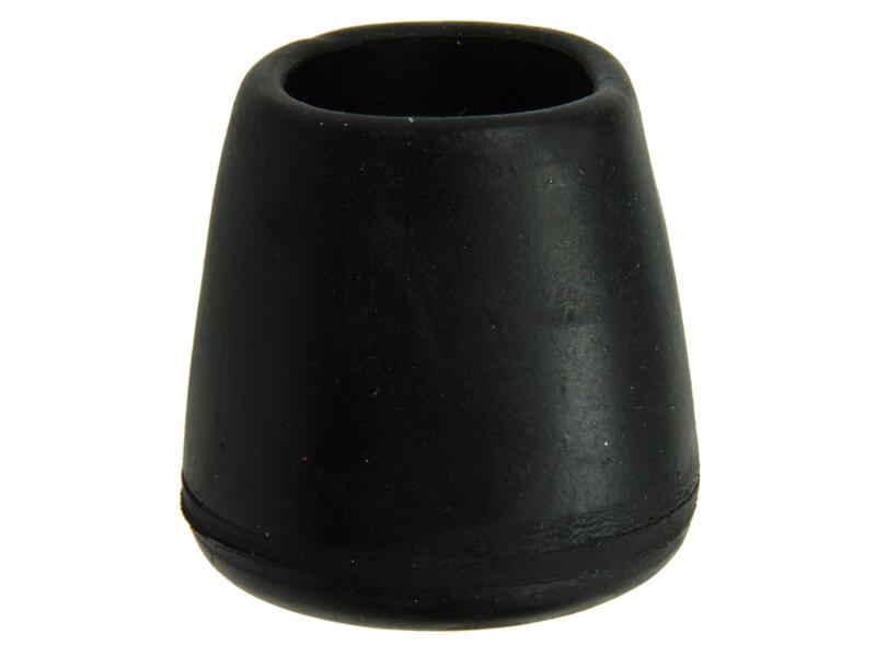 Mack Bouchon de tube 25mm noir 4 pièces