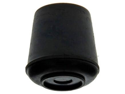 Mack Bouchon de tube à appliquer 16mm noir 4 pièces