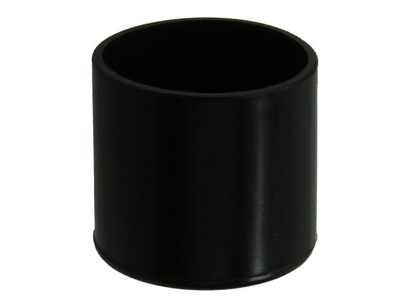 Mack Bouchon de tube à appliquer 19mm noir 16 pièces