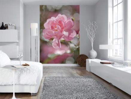 Bouquet fotobehang 4 stroken