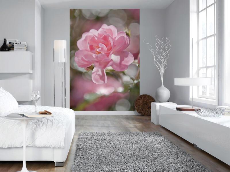 Bouquet papier peint photo 4 bandes