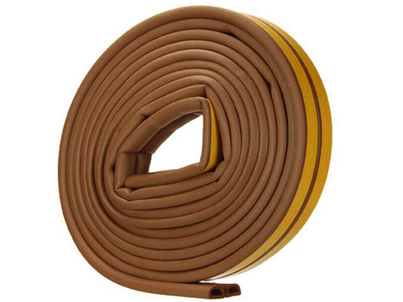 Confortex Bourrelet D 6m 0,9cm brun