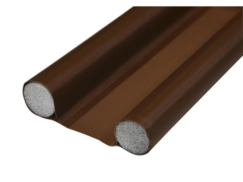 Confortex Bourrelet de porte double 95x3 cm brun