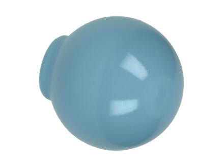 Sam Bouton de meuble boule 29mm matière synthétique bleu 2 pièces