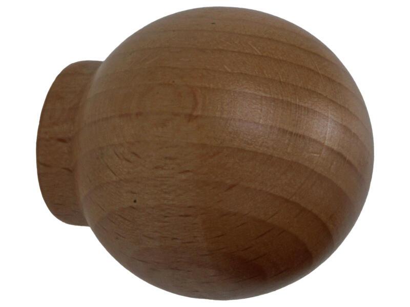 Sam Bouton de meuble boule 35mm hêtre 2 pièces