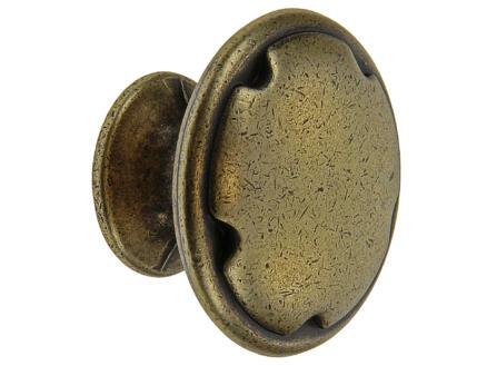 Sam Bouton de meuble décoratif antique 30mm bronze