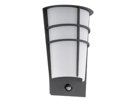 Eglo Breganzo1 LED wandlamp 2x2,5 W met sensor antraciet