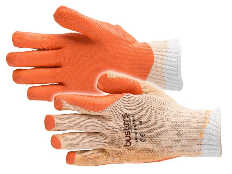 Busters Brick & Stone gants de travail XL latex orange