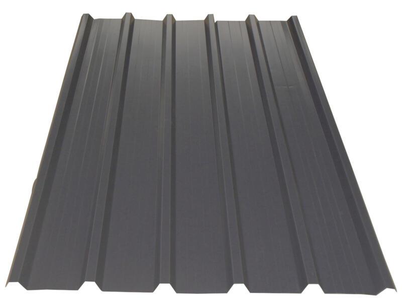 Bricoprofiel dakplaat 200x105 cm 0,5mm grafiet