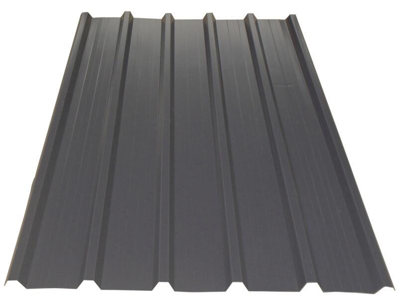 Bricoprofiel dakplaat 250x105 cm 0,5mm grafiet