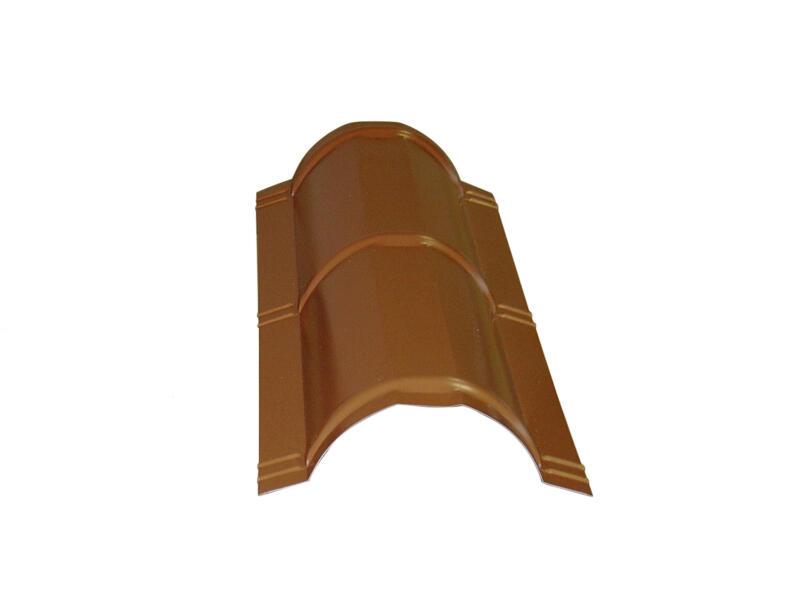 Bricotuil faîtière 90cm terracotta