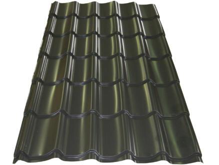 Bricotuil panneau-tuile 200x98 cm 0,5mm graphite