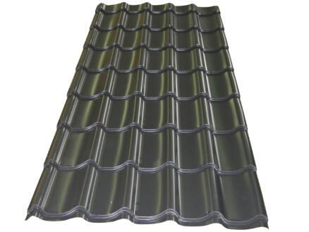 Bricotuil panneau-tuile 250x98 cm 0,5mm graphite