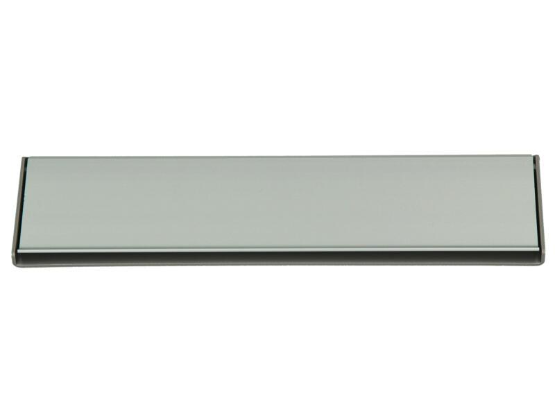 Yale Brievenbusklep aluminium