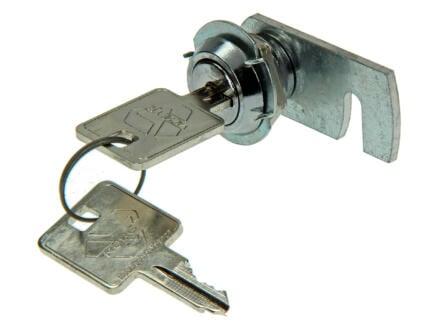 Brievenbusslot cilinder chroom 10mm