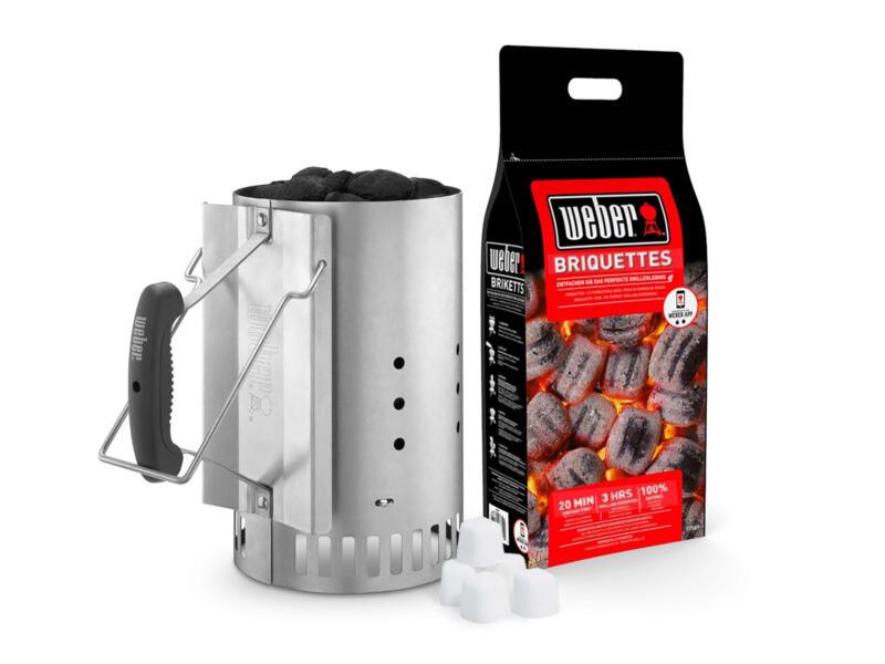 Weber Brikettenstarter kit