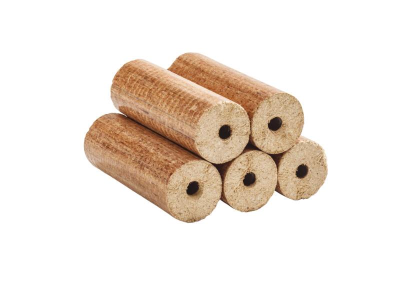 Briquettes de bois rondes 10kg