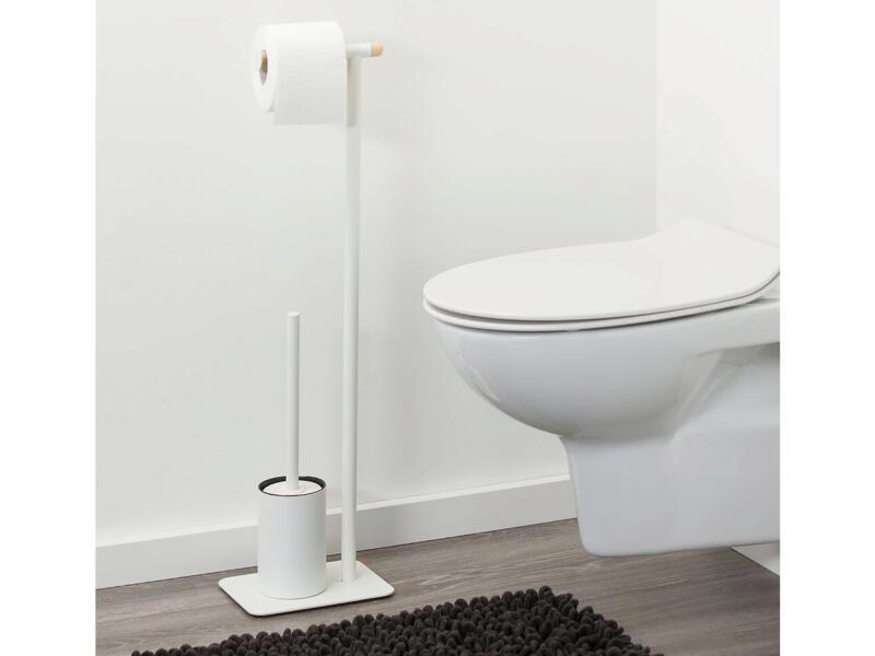 Sealskin Brix valet WC métal blanc
