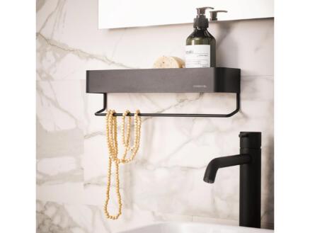 Sealskin Brix wand- en handdoekrek 35cm zwart