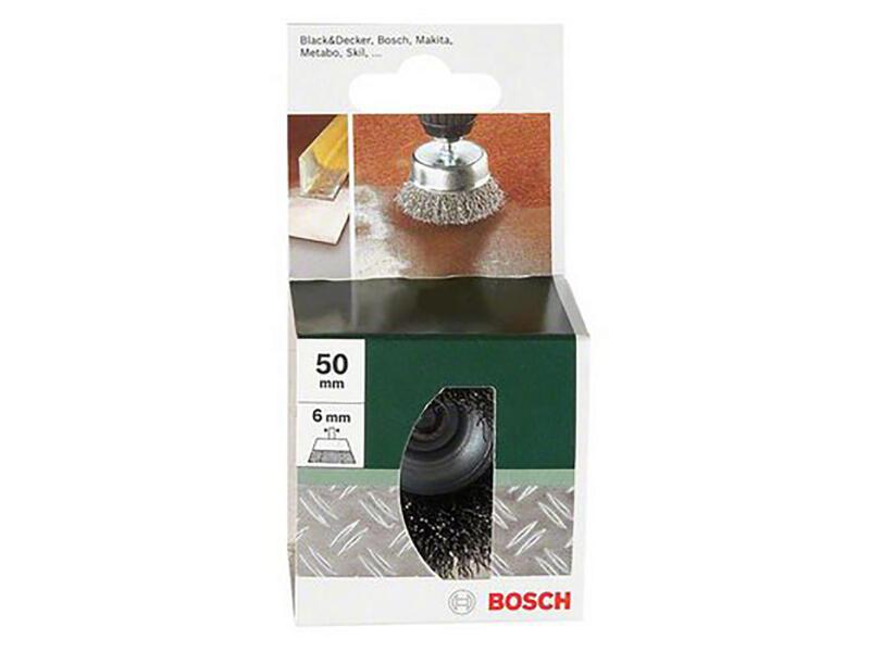 Bosch Brosse soucoupe 50mm fil ondulé