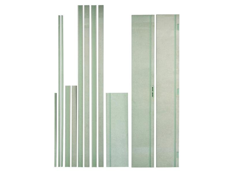 Solid Brut kit d'ébrasement hydro/ignifuge 202x30 cm non peint