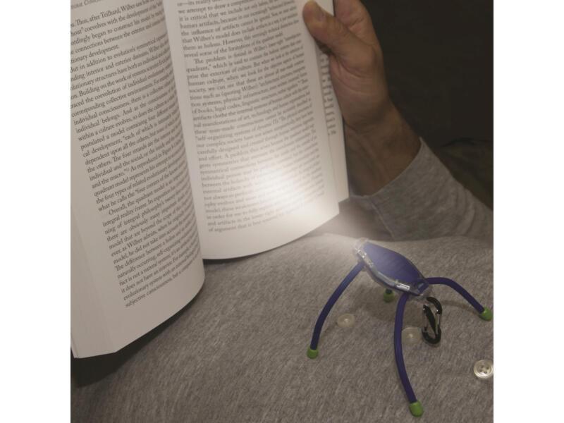 Nite Ize BugLit LED zaklamp blauw