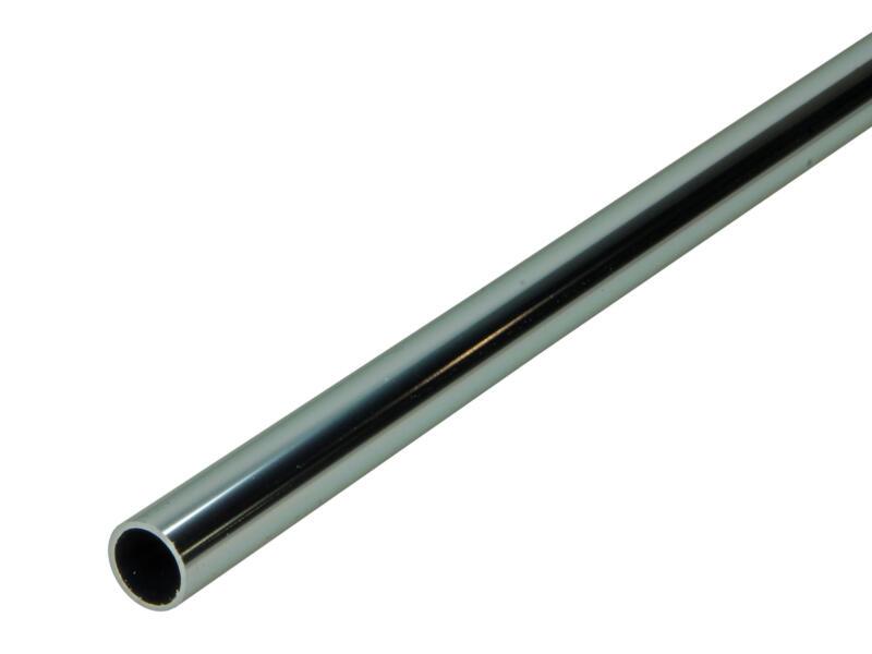 Arcansas Buisprofiel rond 1m 16mm geanodiseerd aluminium blinkend