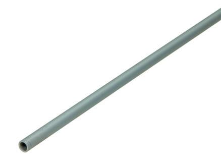 Arcansas Buisprofiel rond 1m 8mm geanodiseerd aluminium mat