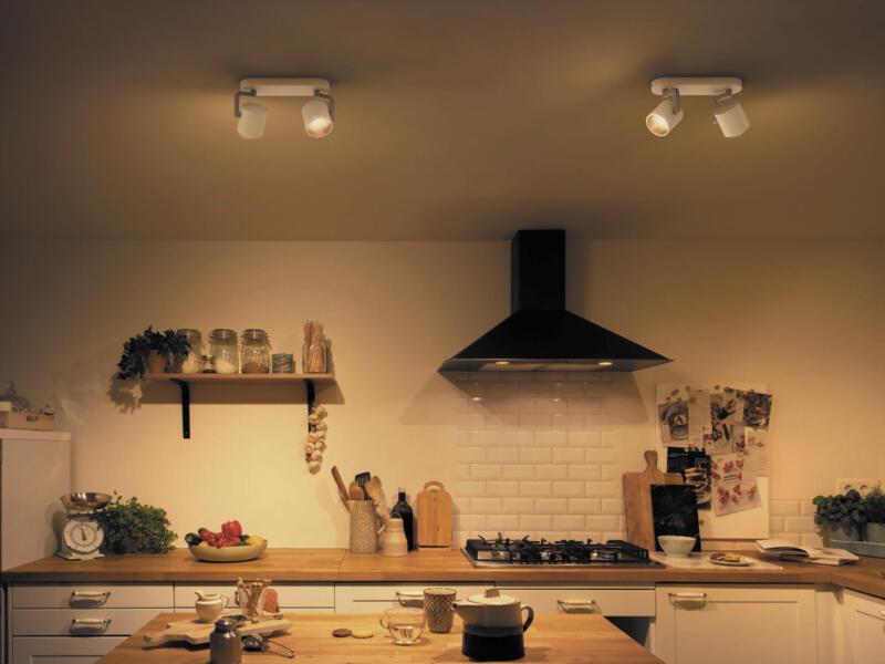 Philips Byrl LED balkspot 2x4,3 W dimbaar wit