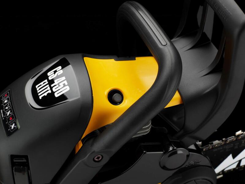 McCulloch CS 450 Elite benzine kettingzaag 45cc 450mm