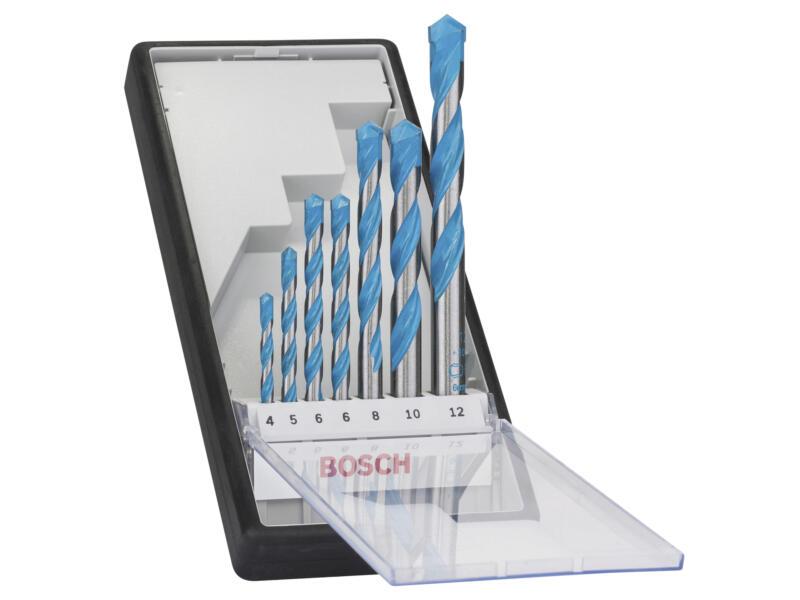 Bosch Professional CYL-9 set de mèche universelle 4-12 mm 7 pièces
