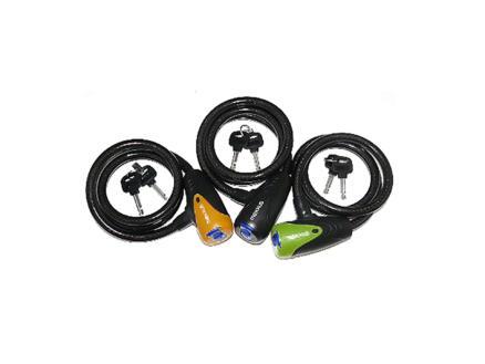 Maxxus Câble antivol à clé 100cm avec protection serrure