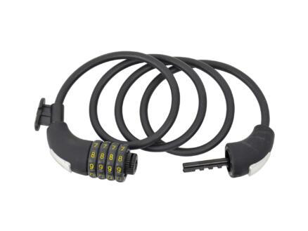 Câble antivol à combinaison 120cm