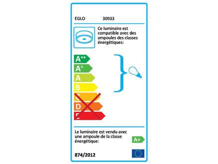 Eglo Cabo plafonnier LED GU10 5x2,5 W chrome
