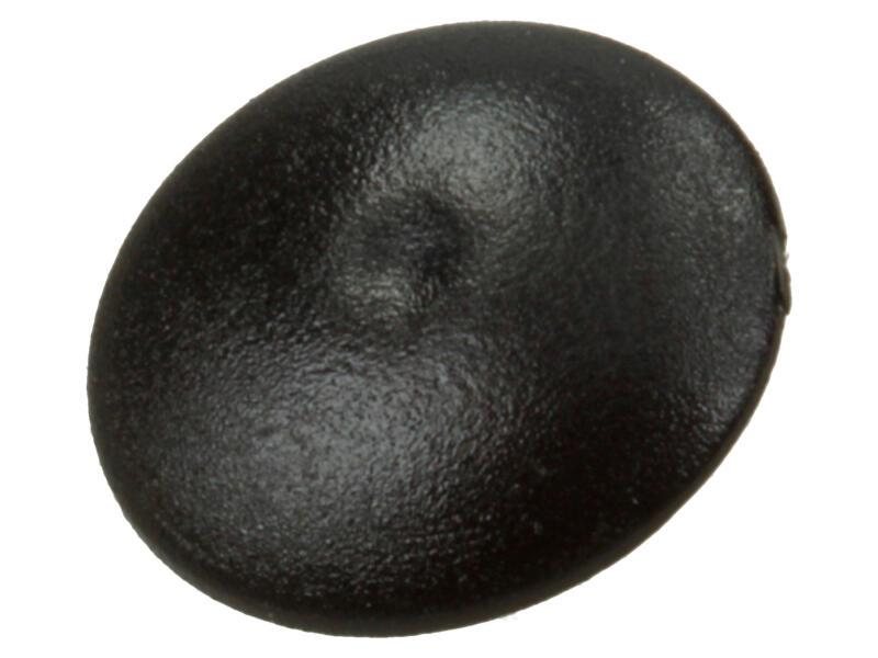Mack Cache-vis pour vis PZ2 noir 40 pièces