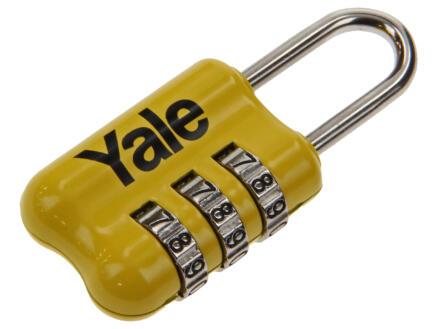Yale Cadenas à code 23mm jaune
