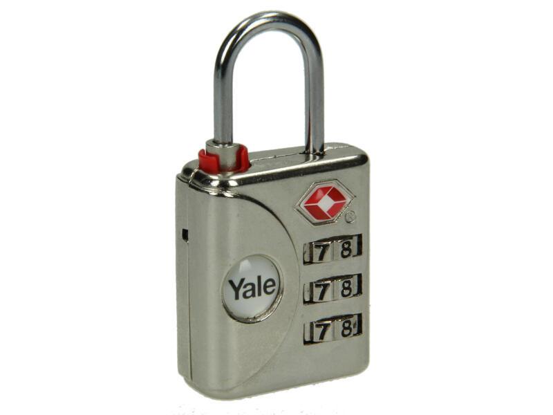 Yale Cadenas à code TSA 32mm