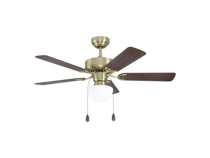 Eglo Cadiz ventilateur de plafond 40W ampoule non comprise E27 bronze