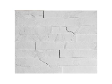 Caïro steenstrip 0,36m² wit 7 stuks