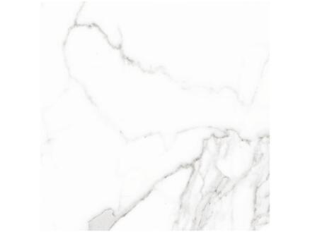 Calacatta Blanco carreau de sol 60x60 cm 1,44m² blanc