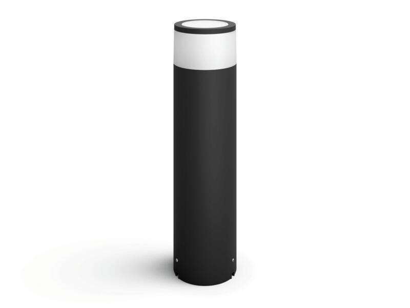 Philips Hue Calla LED sokkel uitbreidingsset 8W 46cm dimbaar zwart