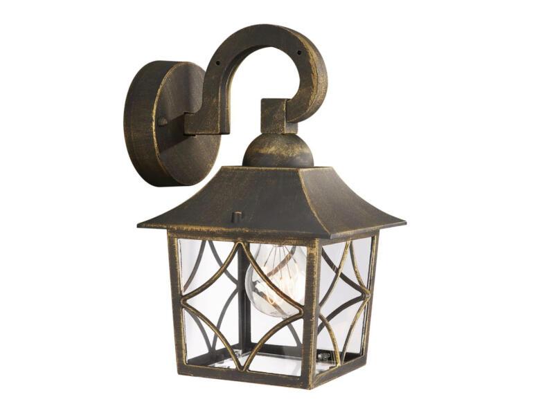 Massive Cambridge wandlamp 60W E27 zwart exclusief lamp