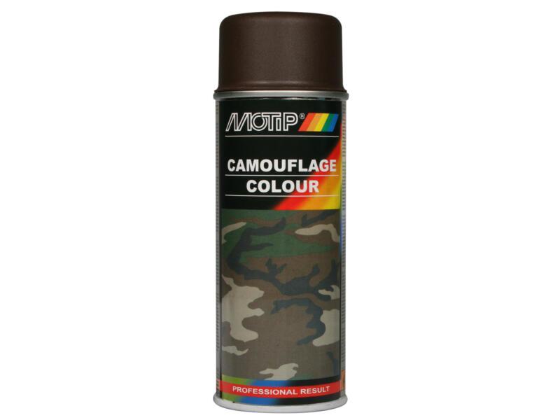 Motip Camouflage lakspray satijnglans 0,4l army brown