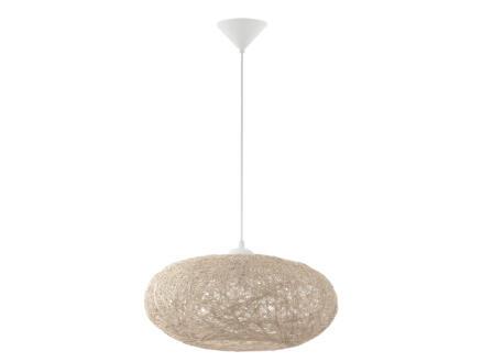 Eglo Campilo hanglamp E27 60W beige