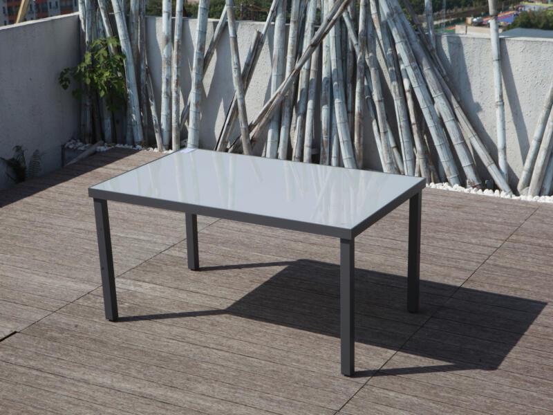 Garden Plus Campos table de jardin 150x90 cm gris