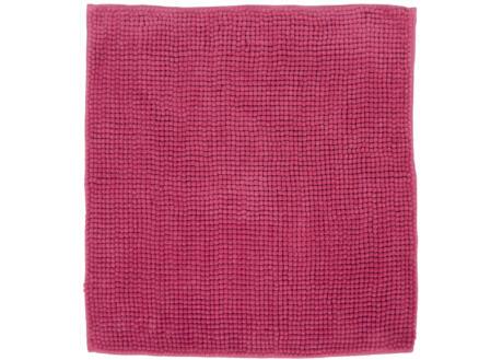 Differnz Candore tapis de bain 60x60 cm fuchsia