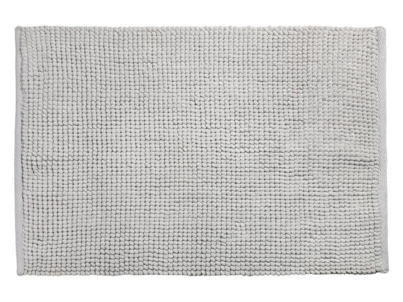 Differnz Candore tapis de bain 80x50 cm gris clair