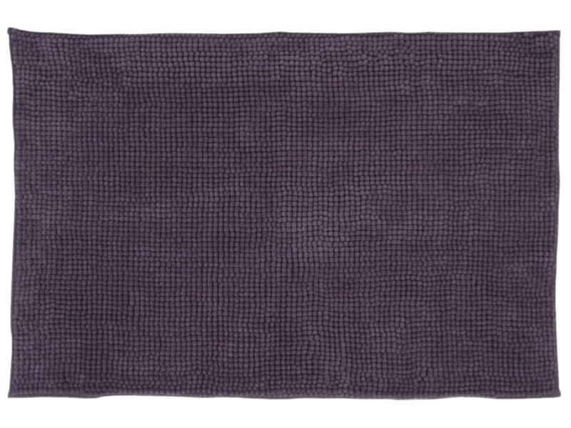 Differnz Candore tapis de bain 90x60 cm aubergine