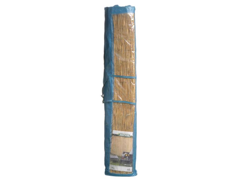 Canisse brise-vue en roseau 100x500 cm