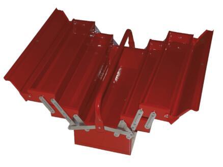 Toolland Cantilever gereedschapskoffer 53x20x20 cm